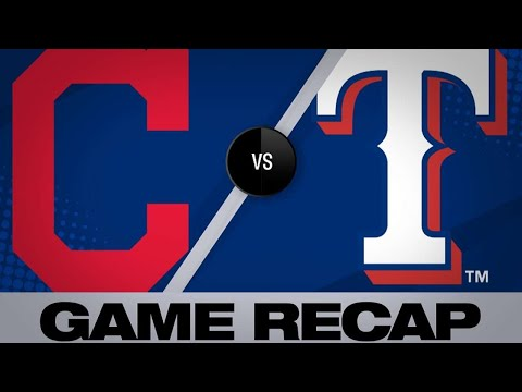 Dan Rivers - Indians Blowout Rangers For Second Straight Game