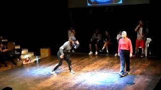 GEO VS LIL BGIRL/FINAL BGIRL BATTLE/ HALL OF FEMME 2017