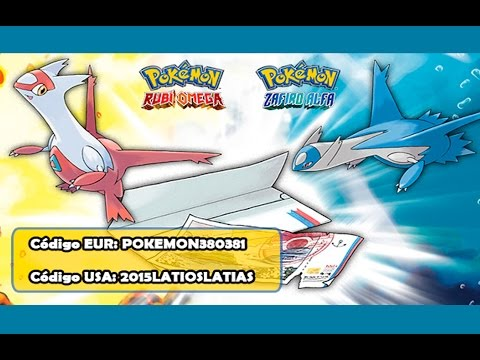Código EUR/USA del Ticket Eón - Pokémon RO/ZA