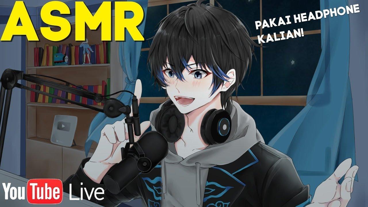 【LIVE】ASMR PERTAMA! NGOMONG BISIK-BISIK! Siapkan Earphone / Headphone Kalian!