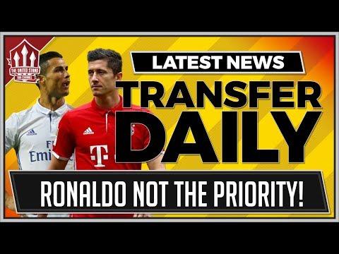 RONALDO NOT MAN UTD'S TARGET! MUFC TRANSFER NEWS