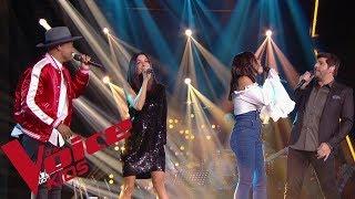 Maître Gims & Vianney - La même   Coachs    The Voice Kids France 2019
