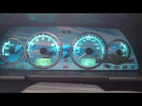Подсветка панели приборов ВАЗ 2110