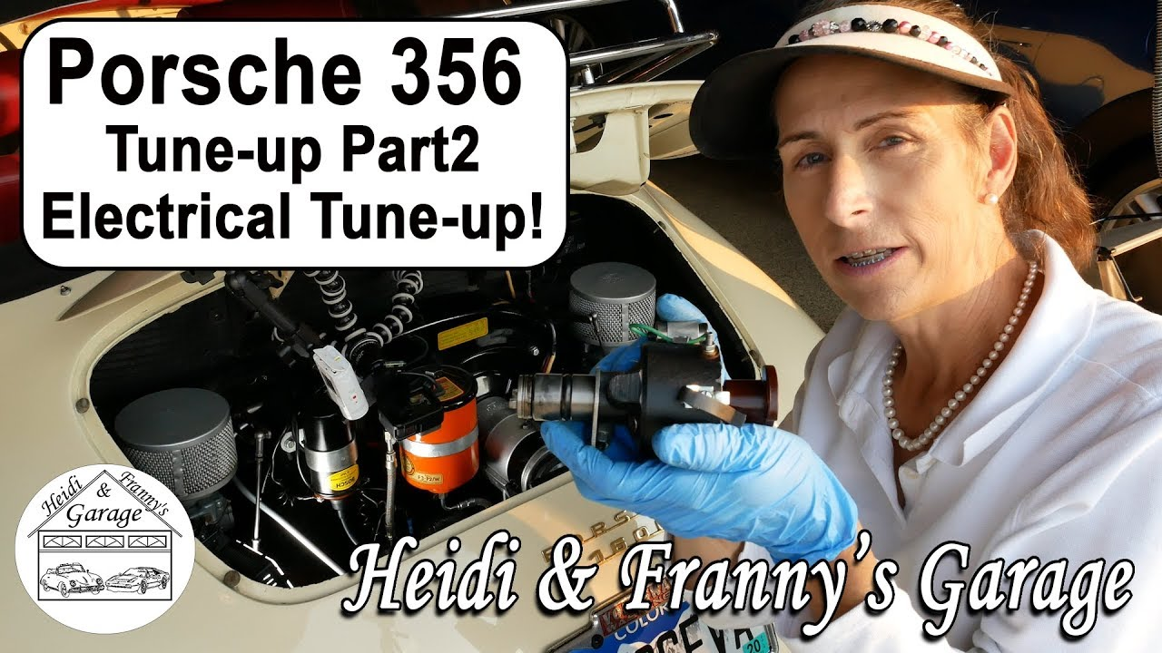 Porsche 356 Tune Up Part2 Electrical Points Plugs Timing 356a Wiring Diagram