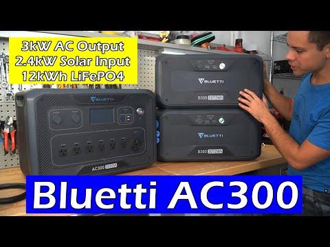 Bluetti AC300: Plug-N-Play Solar Power System, Full Review