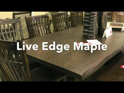Canadian Made & Solid Wood Dining Tables