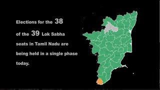 Lok Sabha  Election 2019: Tamil Nadu Goes on Poll in One Phase