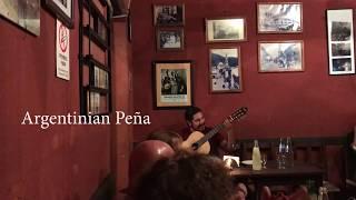 Rodrigo Moro en Salta Pena Argentina