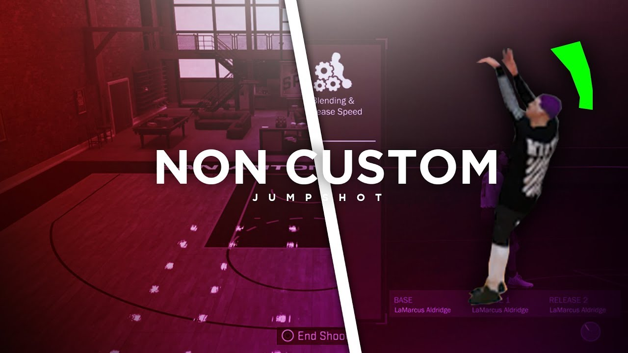 Best Non Custom Jumpshot In Nba 2k18 | Greenlight Jumpshot | Best Jumpshot  in Nba 2k18