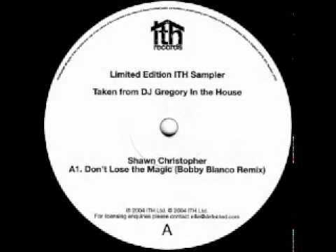 Shawn Christopher -- Don't Lose The Magic (Bobby Blanco Mix)