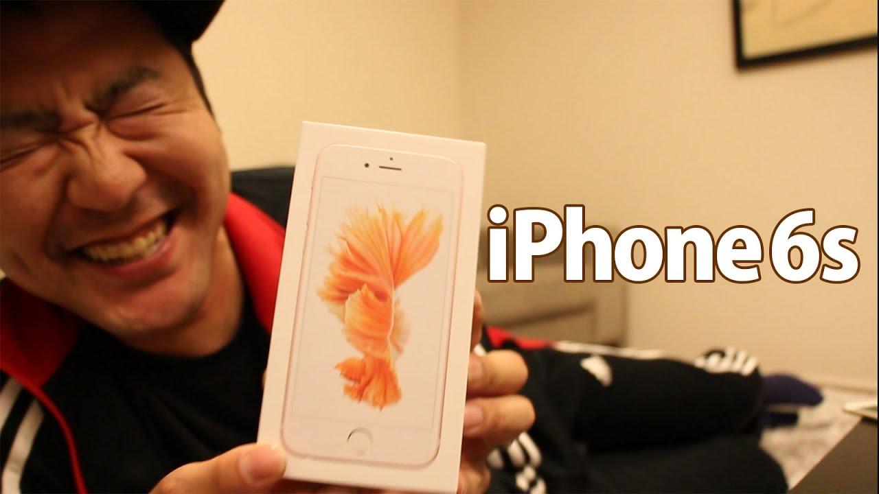 bb20d8841e iPhone6s (4.7インチ) ローズゴールドをゲットしましたよ! - YouTube