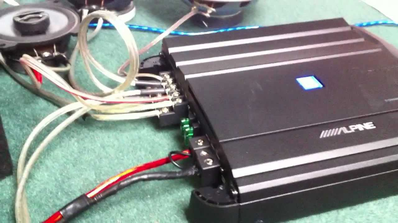 small resolution of alpine mrx v60 5 channel amp youtube planet audio 5 channel amp wiring diagram wiring diagram 5 channel amp