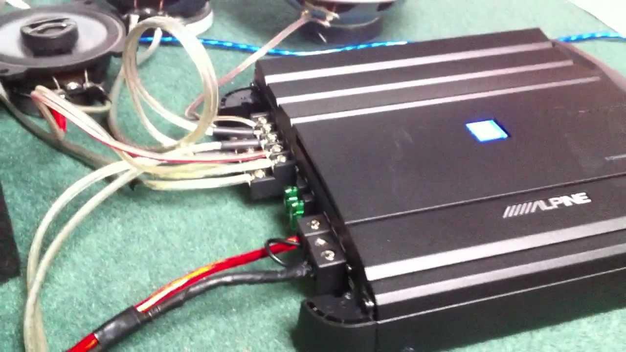 4 channel car amplifier wiring diagram [ 1280 x 720 Pixel ]