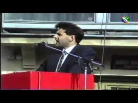 """1992. Samoproglašeni """"predsjednik vlade Sandžaka"""" Rasim Ljajić"""