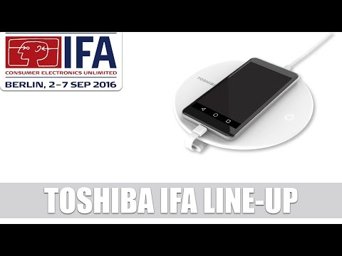 Toshiba: Backup, Storage und Charging Device for Smartphones & A100 SSD #IFA2016