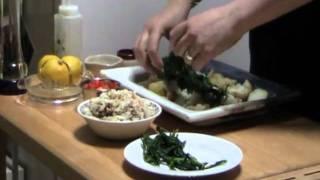 Crab & Sea Asparagus Salad From Islandvittles.com