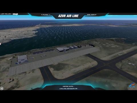 Xplane 11 - VFR delta du Nil - Alexandria Intl (HEAX) à Port Said (HEPS)