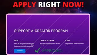 How To Get A Suṗport a Creator Code in Fortnite (Full Guide) (Support-A--Creator 2.0)