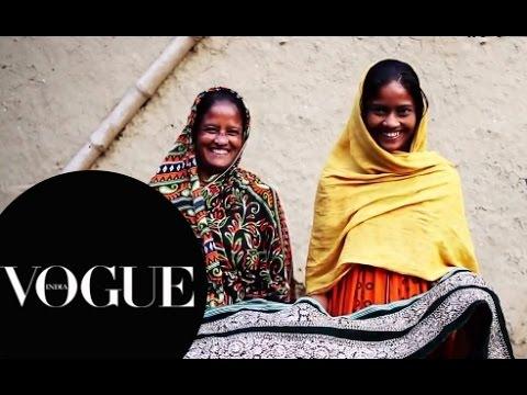 Beautiful Hands - Hand Embroidery   Ritu Kumar Fashion Film   VOGUE India