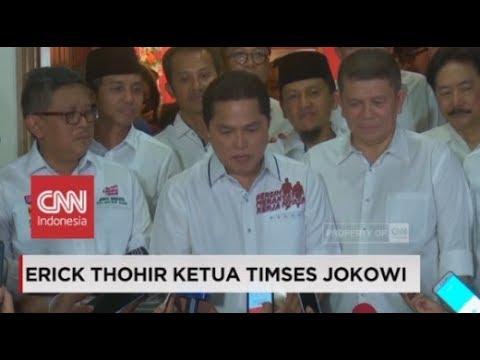 Ditunjuk Jadi Ketua Timses Jokowi, Ini Kata Erick Thohir Mp3