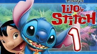 Disney's Lilo and Stitch (PS1) Game Walkthrough Part 1 ~~ 100%  (Trouble In Paradise)