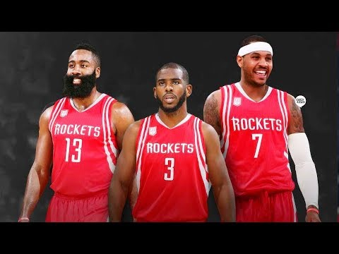 Carmelo Anthony Traded To Rockets! Carmelo Anthony Joins James Harden and Chris Paul on the Rockets