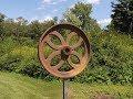 Homemade Metal Sculpture - Garden Art Treasure