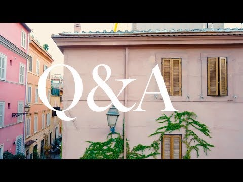 Q&A: Finding Love, Moving to Italy, Travel Filmmaking