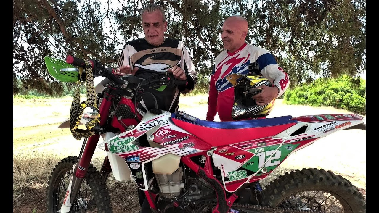 Beta350 Γ.Νινιός Test Ride Εnduro By Livanas Motorsports