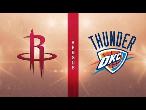 Rockets Vs Thunder Group Chat