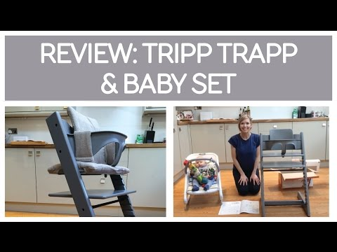 Keekaroo Vs Stokke High Chair Review Christina's Covers And Sashes Momtrends Reviews Tripp Trapp | Doovi
