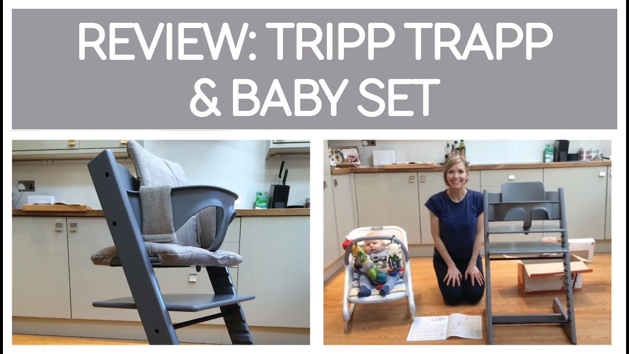 review stokke tripp trapp baby set arrival set up youtube. Black Bedroom Furniture Sets. Home Design Ideas