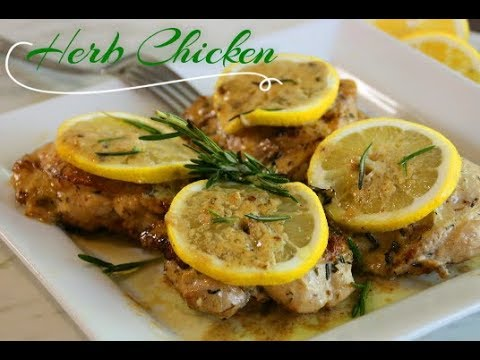 One Pan Lemon Herb Chicken In 30 Minutes