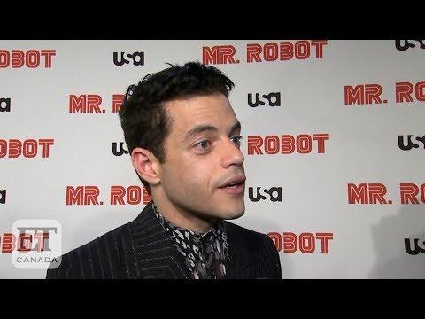Download Rami Malek Says Goodbye To 'Mr. Robot'