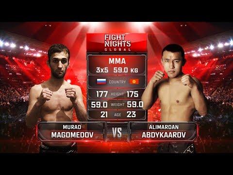Алимардан Абдукааров vs. Мурад Магомедов / Alimardan Abdykaarov vs. Murad Magomedov