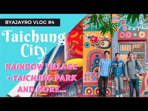 Taichung City, Taiwan Travel Guide | Vlog 4