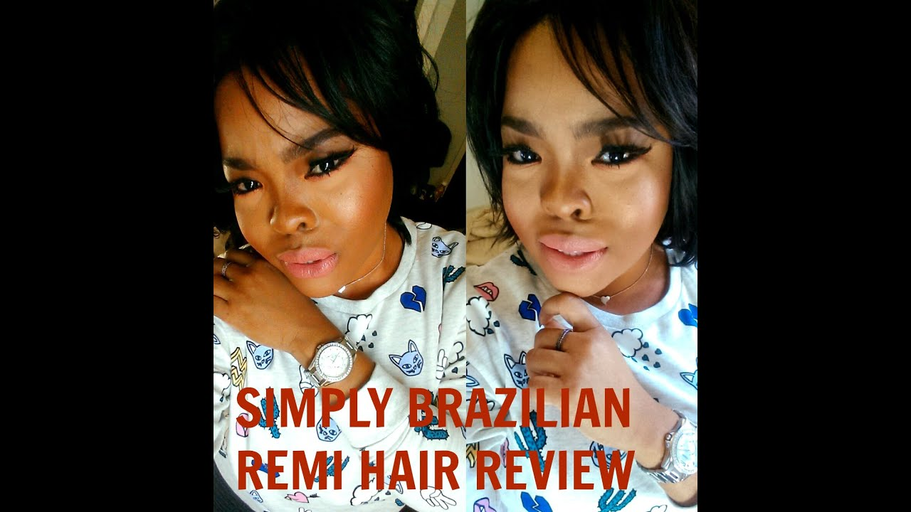 Outre Simply Brazilian Remi Hair By Duby 8 Inches Hair Review