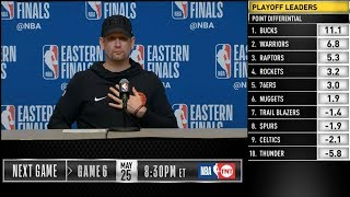 Nick Nurse postgame reaction | Raptors vs Bucks Game 5 | 2019 NBA Playoffs