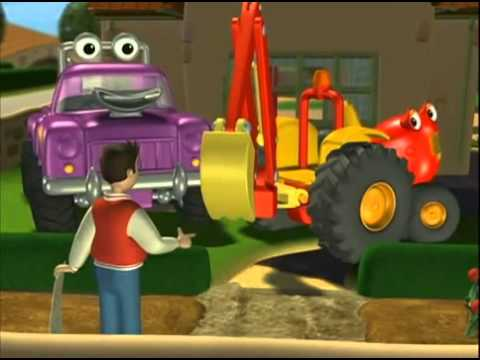 Tracteur tom le jardin youtube - Tracteure tom ...