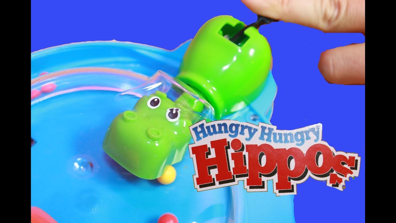 Elefun & Friends Hungry Hungry Hippos Grab & Go Game ...