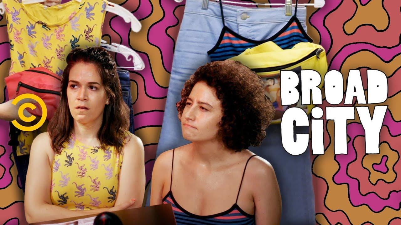 A Look Inside Abbi and Ilana's Season 5 Wardrobe - Broad City