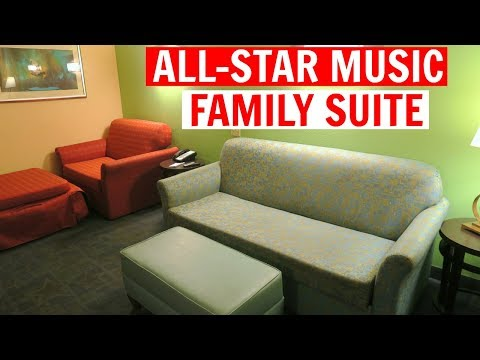 TRAVEL DAY  ALLSTAR MUSIC FAMILY SUITE  MAGIC KINGDOM  WDW Vacation May 2017 Day 1