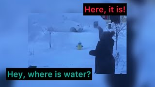 Water freezes so qui¢kly in Canadian winters | it's time to explore