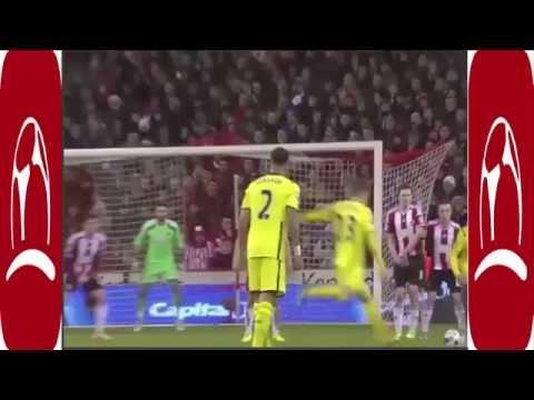 What a superb free kick by Eriksen
