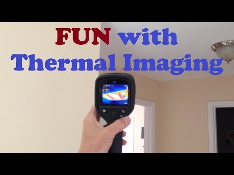Home Inspection in PREDATOR VISION! - FLIR Thermal Imaging Camera