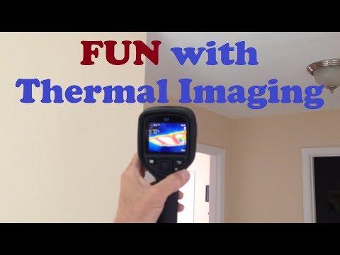 Home Inspection in PREDATOR VISION! - FLIR Thermal Imaging Camera