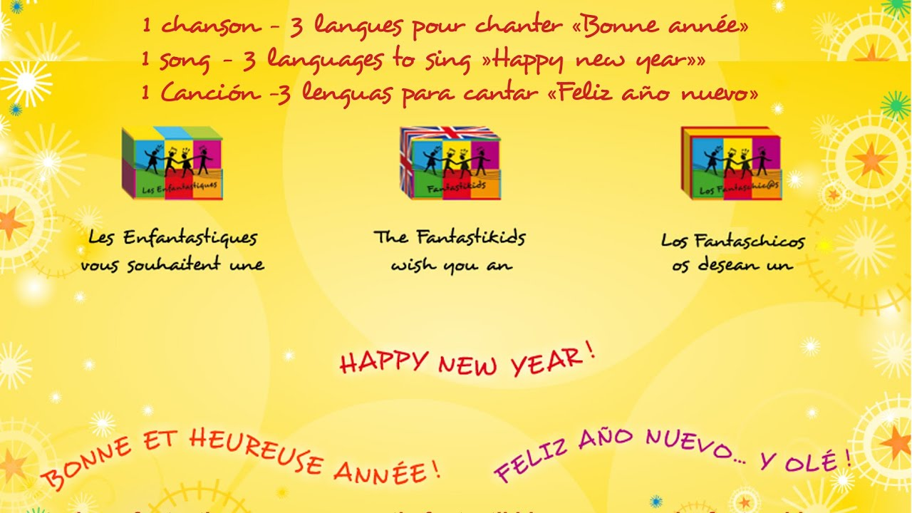 2018 bonne et heureuse annee happy new year feliz ano nuevo youtube - Bonne annee dans toutes les langues ...