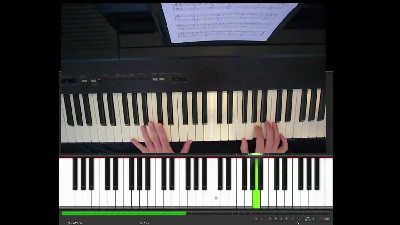 partition piano u2 october
