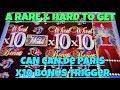 CAN CAN SLOT MACHINE - TWO BIG BONUS WINS! - YouTube