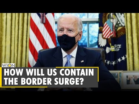Joe Biden plans to visit Mexican border to review migrants situation | US Migrants Challenge | WION